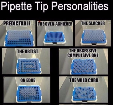 Pipette Personalities